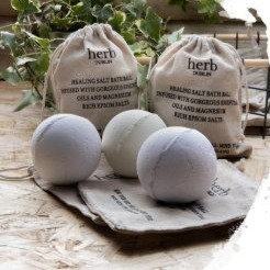 HERB DUBLIN Lemon, Lime & Rosemary Bath Ball