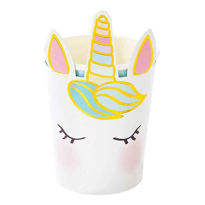 We Heart Unicorns Face Cups
