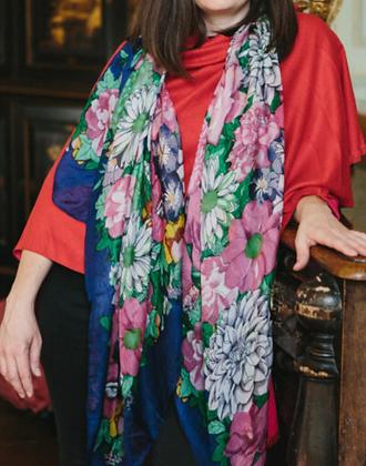 Floral Large Silk