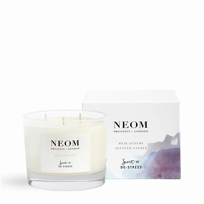NEOM De-Stress 3 Wick Scented Candle
