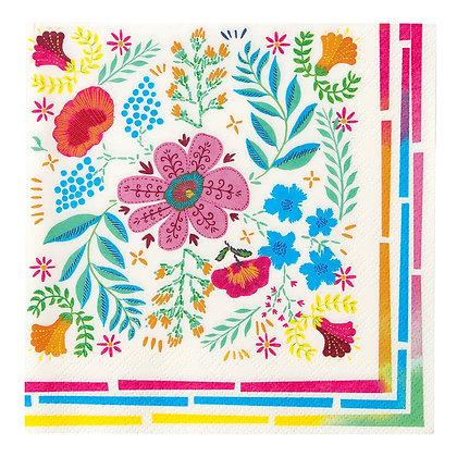Boho Floral Napkins