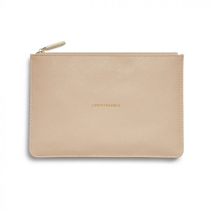 KATIE LOXTON PERFECT POUCH  GIRLY GOODIES in OYSTER PINK