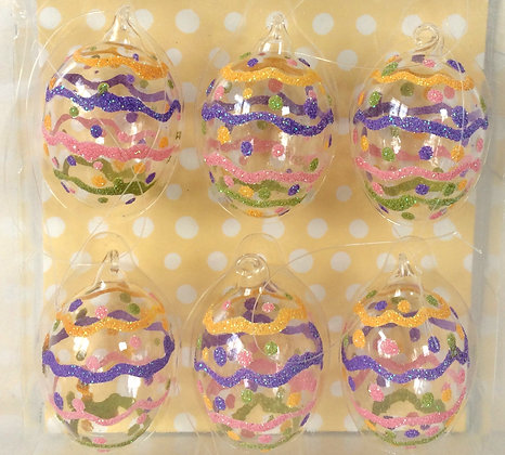 Easter Egg Glass Decoration