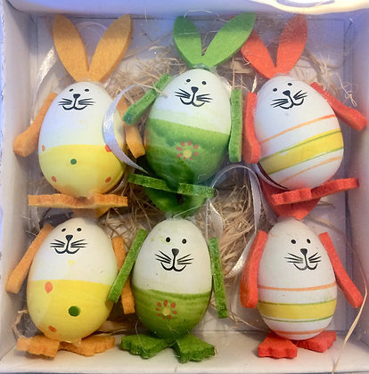 Easter Bunny Eggs Decoration