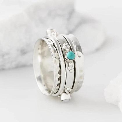 Charlottes Web Serenity Spinning Ring 56/P