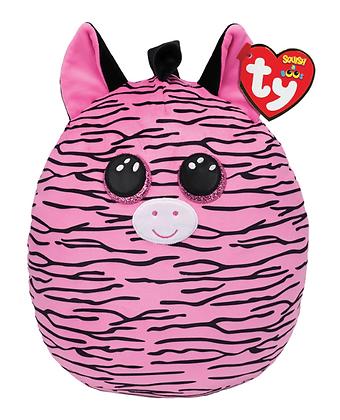 TY Zoey Zebra - Squish-A-Boo