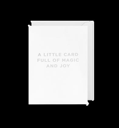LAGOM A Little Card Full of Magic Mini Card
