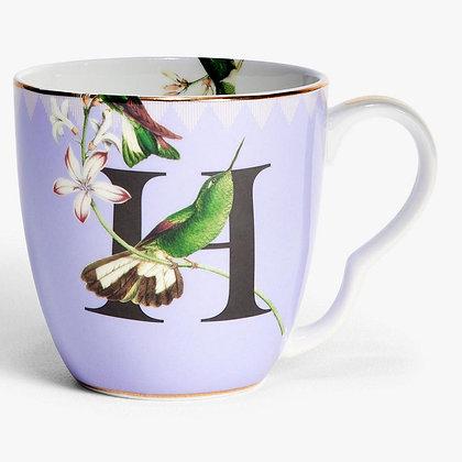 Alphabet Mug - H