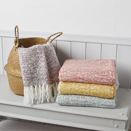 Boucle effect throw