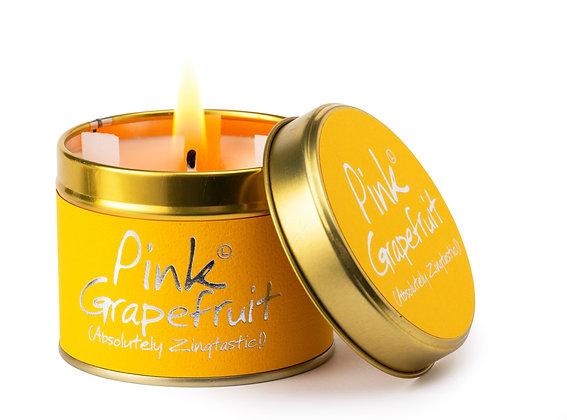 Pink Grapefruit candle tin