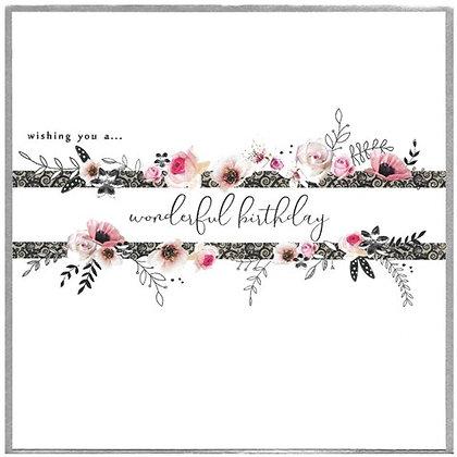 CINNAMON AITCH Picadilly- Wonderful Birthday XL Card