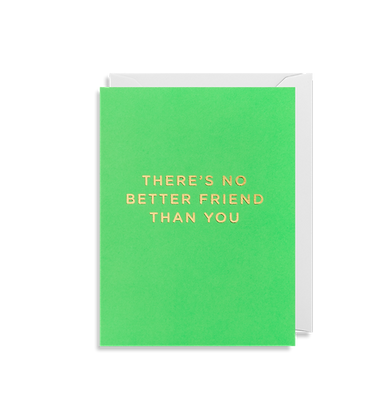 LAGOM There Is No Better Friend Then You Mini Card