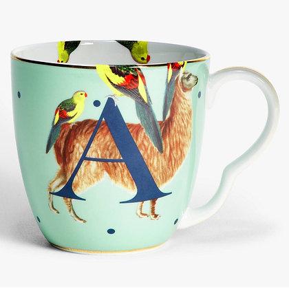 Alphabet Mug - A