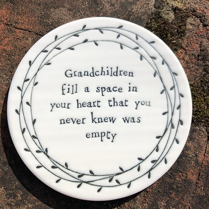 EAST OF INDIA Grandchildren Coaster