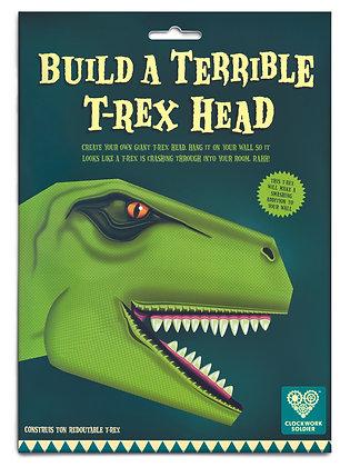 Build a terrible T.Rex head