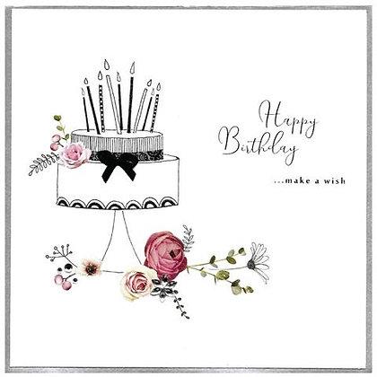CINNAMON AITCH Picadilly - Make a Wish XL Card