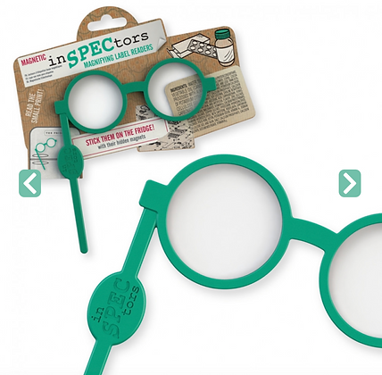 Inspectors - Magnetic Label Readers The Green Pair