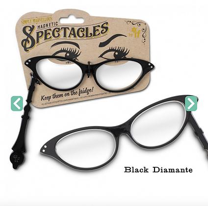 Simply Marvellous Magnetic Spectacles Black Diamante