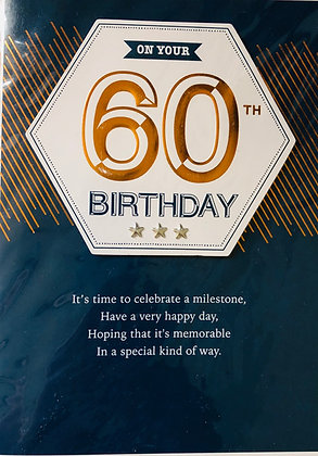SECOND NATURE 60th Birthday