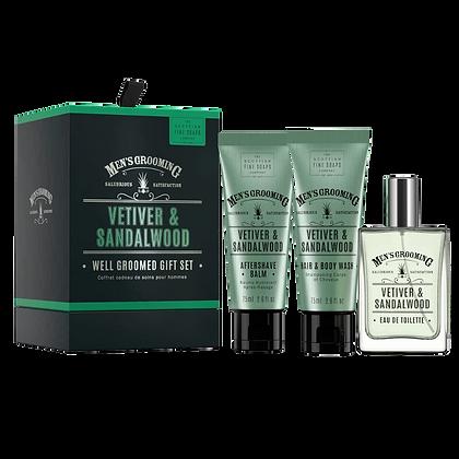 THE SCOTTISH FINE SOAPS Vetiver & Sandalwood Gift Set