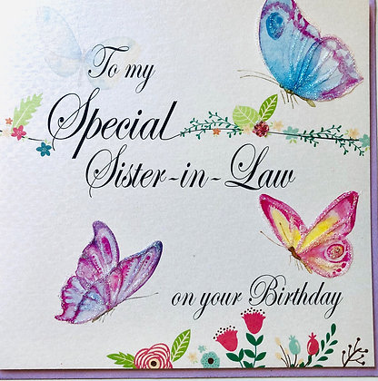 To My Special Dughter-In-Law