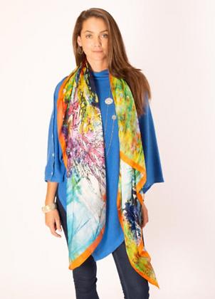 Multi-Coloured Large Silk