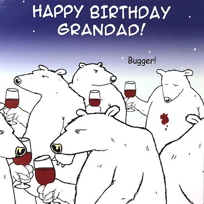 TWIZLER CARDS - Grandad