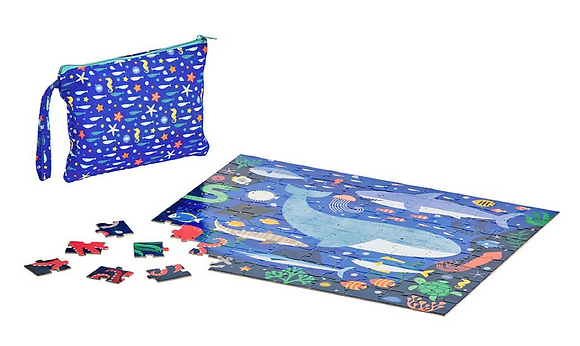 Two Sided On The Go Puzzle – Under the Sea
