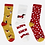 Thumbnail: Dogs Set 3 Boxed Socks