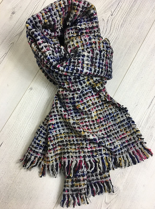 Soft Touch Chunky Scarf - Grey