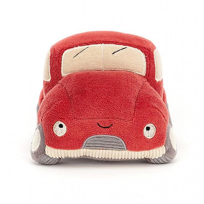 Jellycat Wizzi Truck Red
