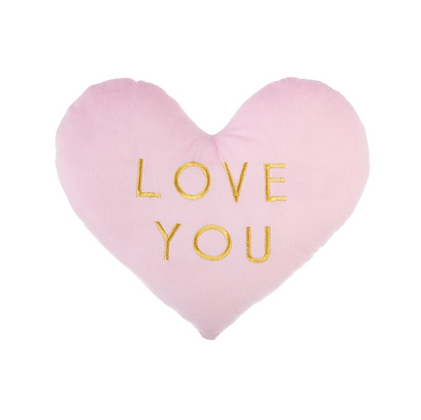Sass and Belle Pink Heart Cushion