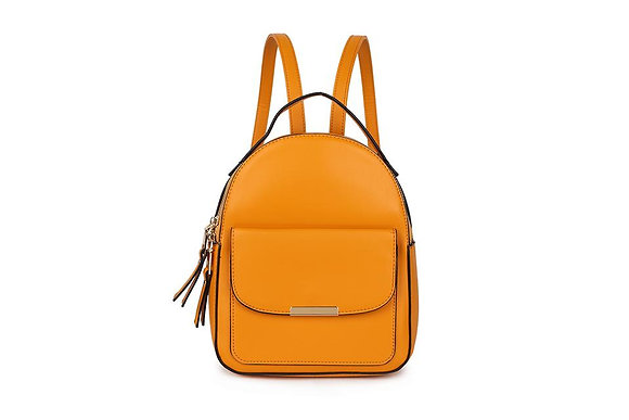 YELLOW Pocket Front Small Back Pack