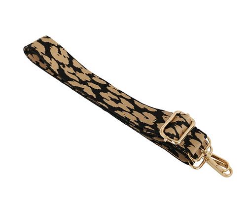 Leopard Print Taupe Strap