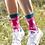 Thumbnail: Miss Sparrow Hedgehog Print Bamboo Socks