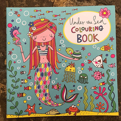 RACHEL ELLEN Under The Sea Colouring Book