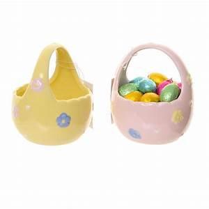 GISELA GRAHAM Little Ceramic Basket