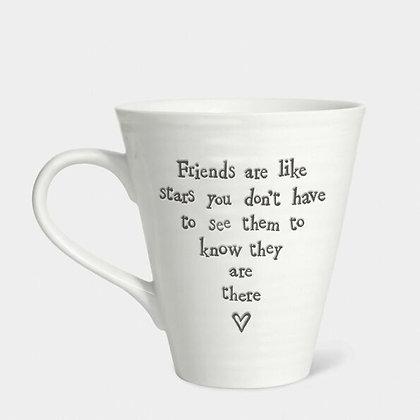 Friends Are Like Stars Porcelain Mug