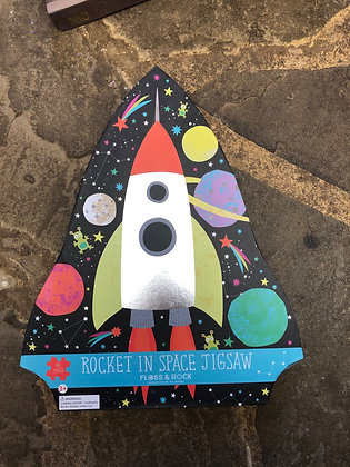 FLOSS & ROCK Rocket In Space Jigsaw