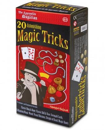 20 ASTONISHING MAGIC TRICKS