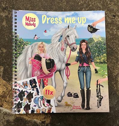 DEPESCHE Miss Melody Dress Me Up Book