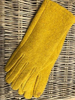 Textured Gloves - YELLOW