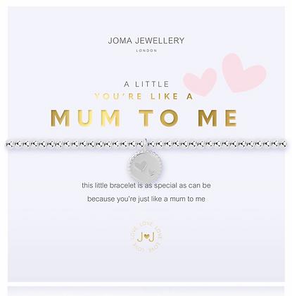 You're Like A Mum To Me, bracelet