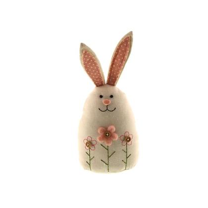 SAGE Fabric Rabbit Decoration 22cm