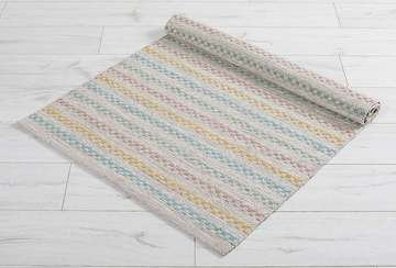 Small striped rug
