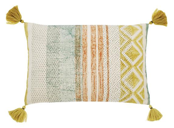 Sorbet striped cushion