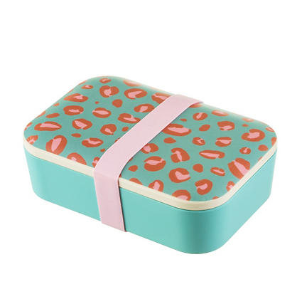 Sass and Belle Leopard Love Bamboo Lunchbox
