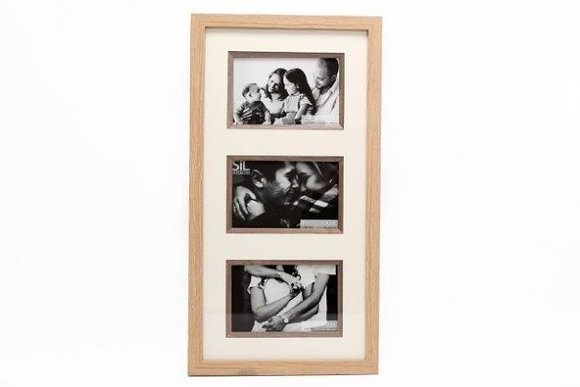SIFCON Triple Wooden Picture Frame