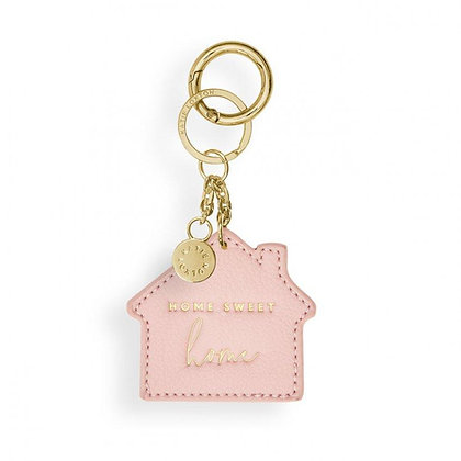 KATIE LOXTON CHAINS CHAIN KEYRING   HOME SWEET HOME   PINK