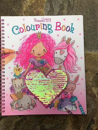 DEPESCHE Princess Mimi Colouring Book